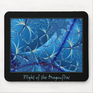 Flight of the Dragonflies Mouse Pad