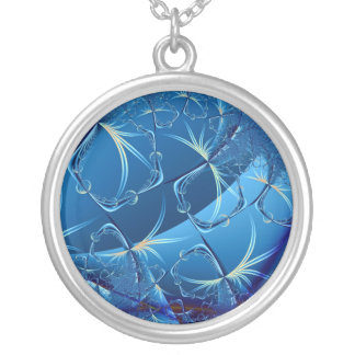Flight of the Dragonflies Round Pendant Necklace