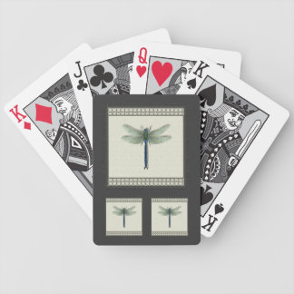 Flight of the Dragonfly Bicycle Playing Cards