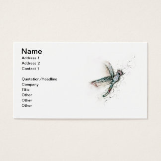 Flight Of The Dragonfly Business Card