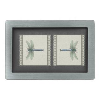 Flight of the Dragonfly Rectangular Belt Buckle