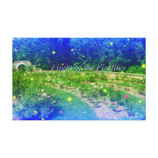 Flight of the Fireflies Canvas Print