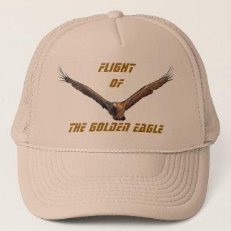 Flight of the Golden Eagle Trucker Hat
