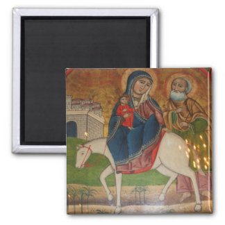 Flight of the Holy Family in Egypt Magnets