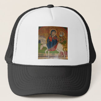Flight of the Holy Family in Egypt Trucker Hat