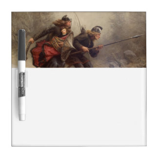 Flight of the Infant King Dry-Erase Board