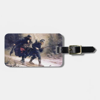 Flight of the King (2) Travel Bag Tag