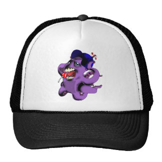 Flight of the Octopus - Boys' version Trucker Hat