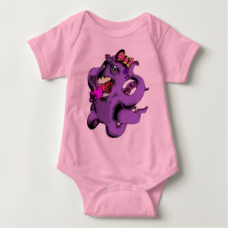 Flight of the Octopus - Girls' Version Baby Bodysuit