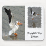 Flight of the Pelican Mouse Pad