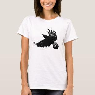 02c4c187 Wild Raven T-Shirts - T-Shirt Design & Printing   Zazzle