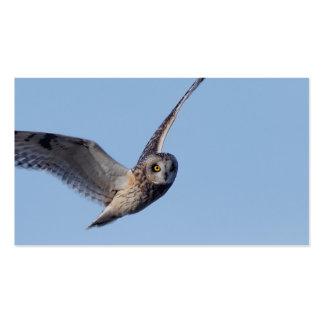 Flight of the Short-Eared Owl Business Card