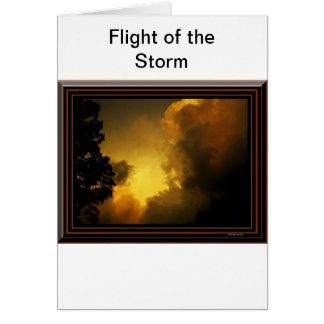 Flight of the Storm Greeting Card