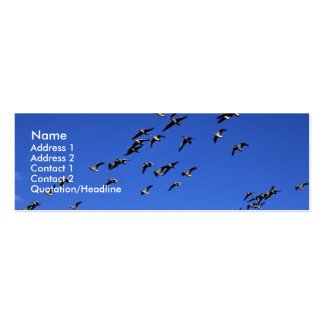 Flight of the Wild Geese Business Cards