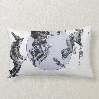 Flight of the Witches Lumbar Pillow