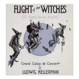 Flight of the Witches Poster