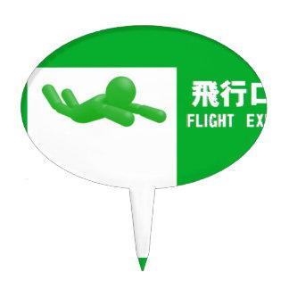 Flight opening
