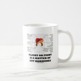 Flight Or Fight Is A Matter Of Gut Hormones Coffee Mug