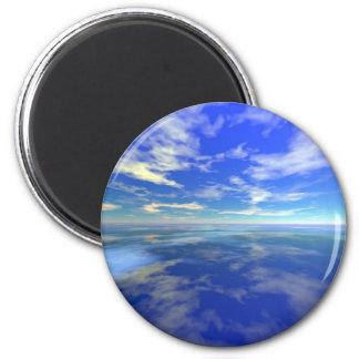 Flight over Water Magnet