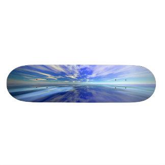 Flight over Water Skateboard Deck