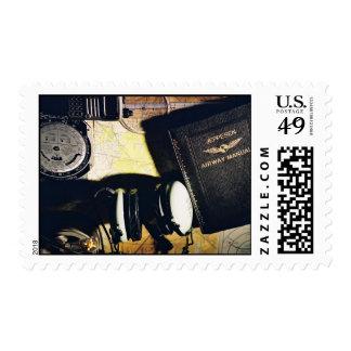 Flight Plan 1 Stamp