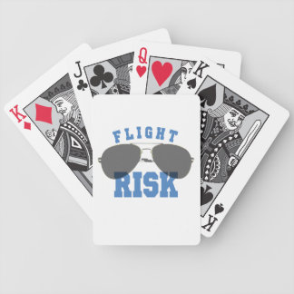 Flight Risk Aviation Glasses Bicycle Playing Cards
