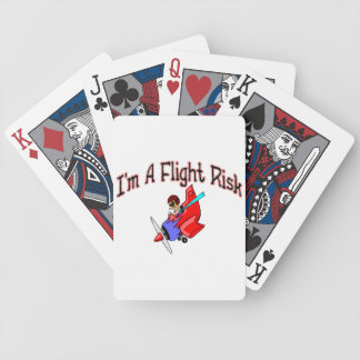 Flight Risk Bicycle Playing Cards