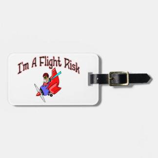 Flight Risk Luggage Tag