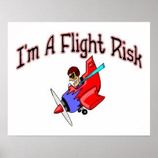 Flight Risk Poster