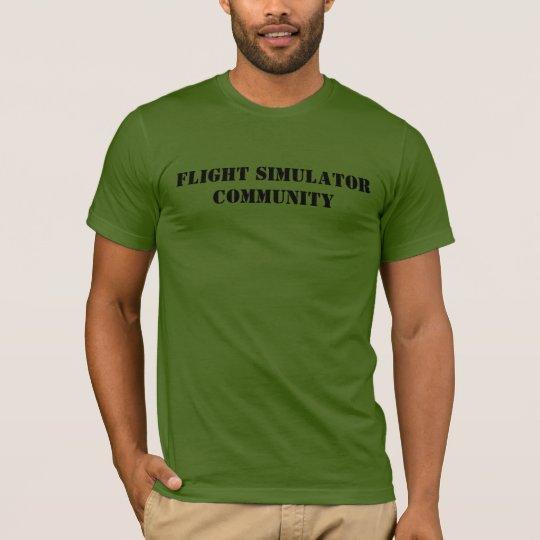 Flight Simulator Community Squadron T-Shirt