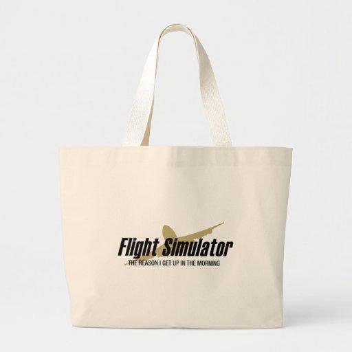 Flight Simulator Reason I get Up Bag