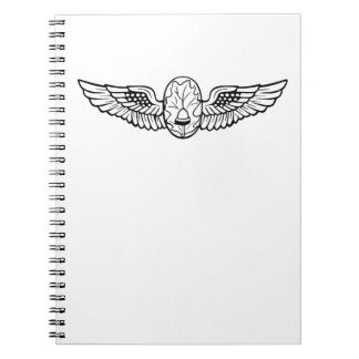 Flight Surgeons' Wings Spiral Note Books