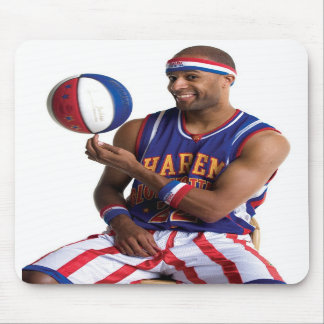 Flight Time ball spin Mouse Pads