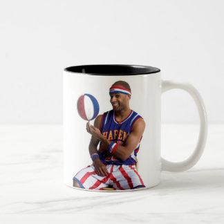 Flight Time ball spin Two-Tone Coffee Mug
