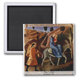 Flight To Egypt By Angelico Fra Magnet