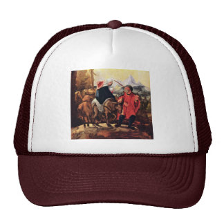 Flight To Egypt By Huber Wolf (Best Quality) Mesh Hats