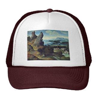 Flight To Egypt By Patinir Joachim (Best Quality) Mesh Hat
