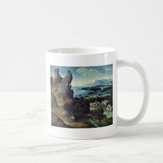 Flight To Egypt By Patinir Joachim (Best Quality) Coffee Mugs