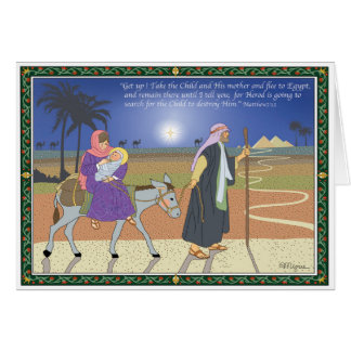 Flight to Egypt Cards