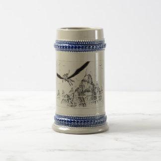 Flight to Olympus Coffee Mugs