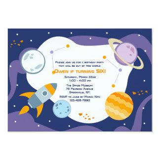 Flight to Space Invitation