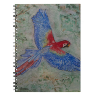 Flight to the Canopy Notebook (80 Pages B&W)