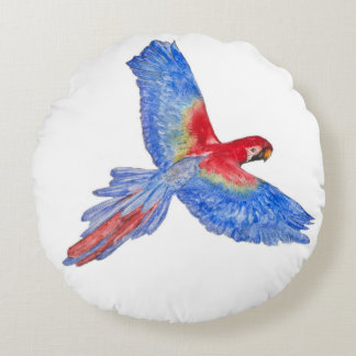 """Flight to the Canopy Polyester Round Pillow (16"""")"""