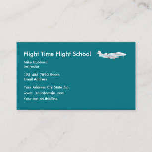 Flight Trainer Business Cards