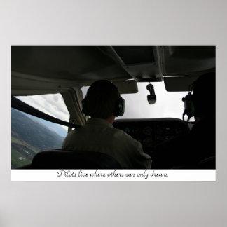 Flight Training Print