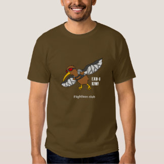 Flightless club - Kiwi Tee Shirt