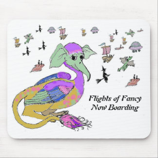 Flights of Fancy Mouse Pad