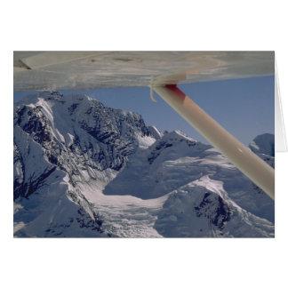 Flightseeing Denali National Park Stationery Note Card