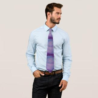 Flighty Style | Pretty Purple Blue Pink | Pastel Neck Tie