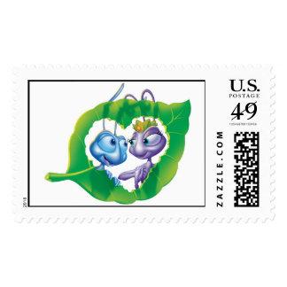 Flik and Atta Love Disney Postage Stamp
